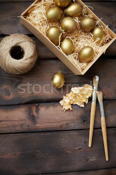 Easter preparations Stock photo © pressmaster