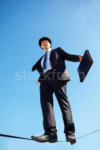 ビジネス 成功 写真 熟練した ビジネスマン 徒歩 ストックフォト © pressmaster
