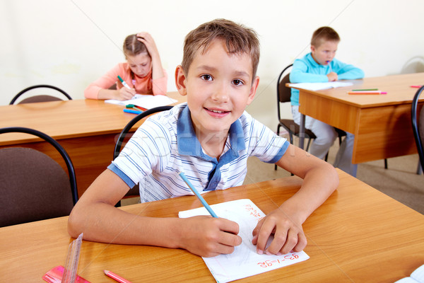 Learner at lesson Stock photo © pressmaster