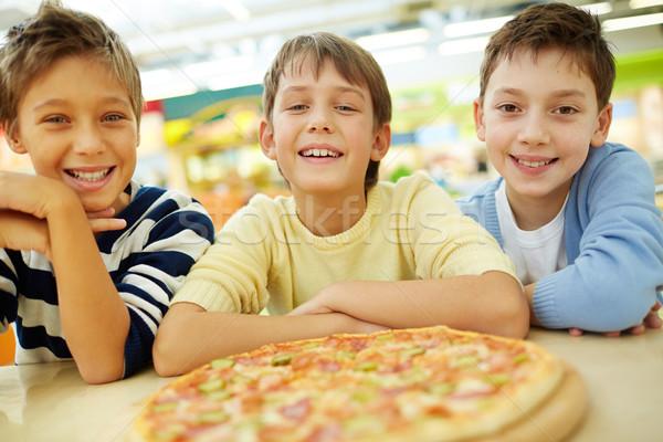 Pizza lovers Stock photo © pressmaster