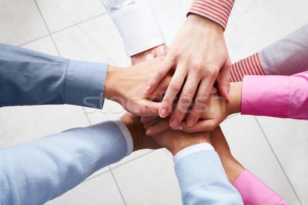 Eenheid zakenlieden business groep team Stockfoto © pressmaster