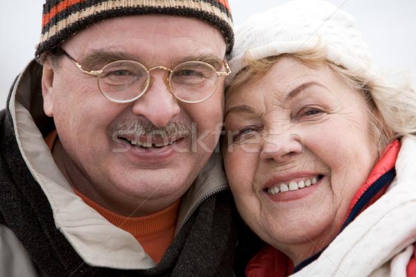 Genegenheid gelukkig naar camera glimlacht Stockfoto © pressmaster