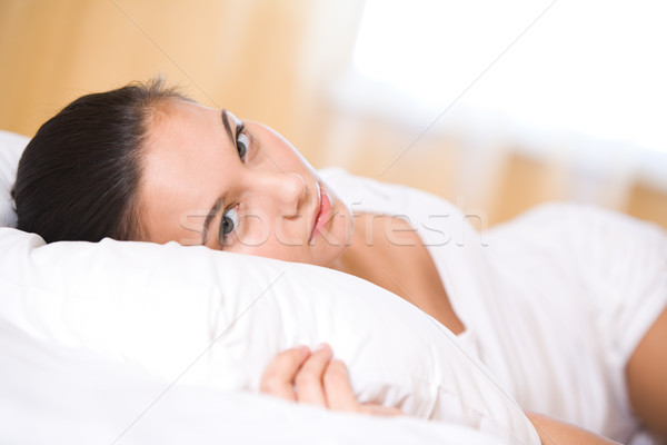 Restful girl Stock photo © pressmaster