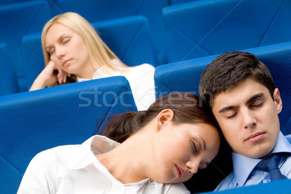 Sleep during conference Stock photo © pressmaster