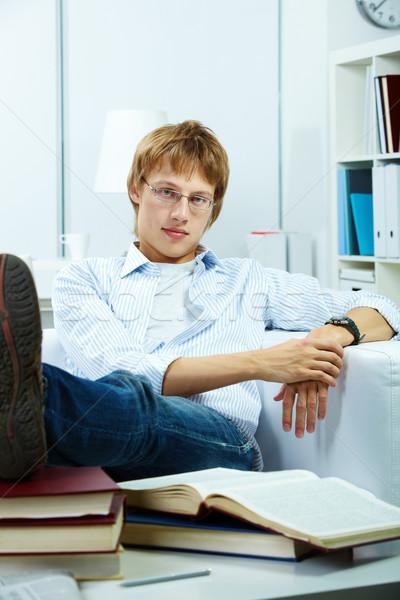 Handsome student Stock photo © pressmaster