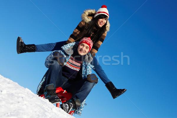 Winter weekend  Stock photo © pressmaster