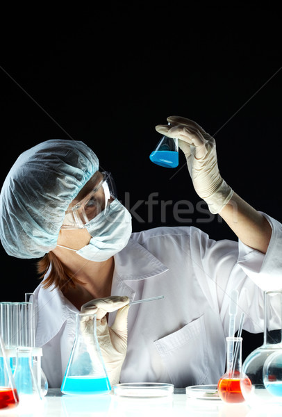 In dark lab Stock photo © pressmaster