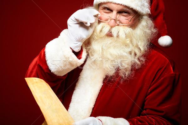 Kind Santa Claus Stock photo © pressmaster