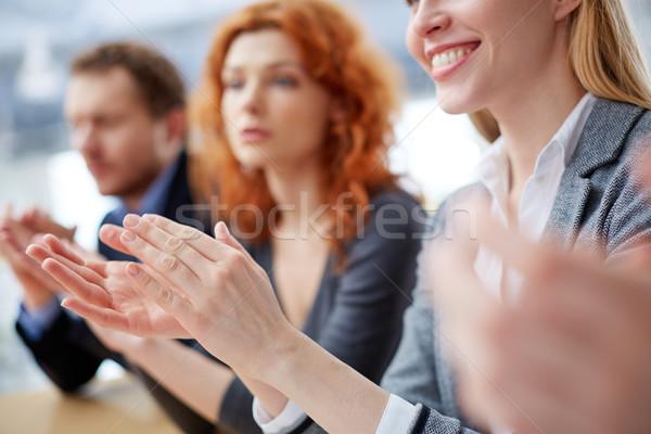 Hands applauding Stock photo © pressmaster