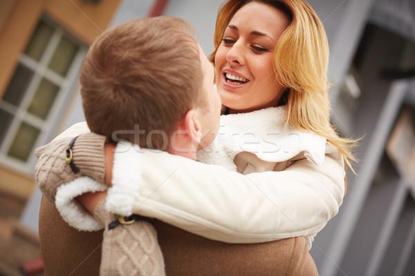 Sweethearts embracing Stock photo © pressmaster