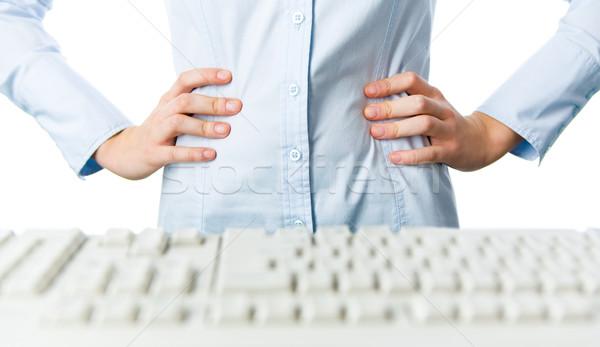 создают женщины рук талия Сток-фото © pressmaster