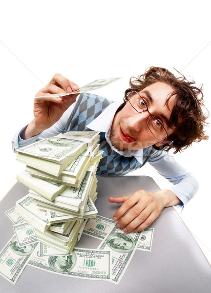 Rich man Stock photo © pressmaster
