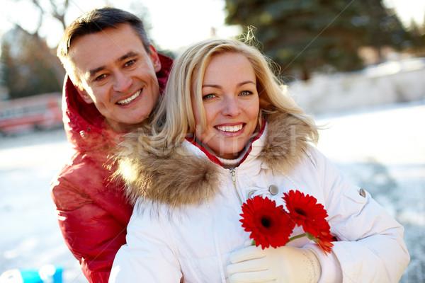 Cute couple Stock photo © pressmaster