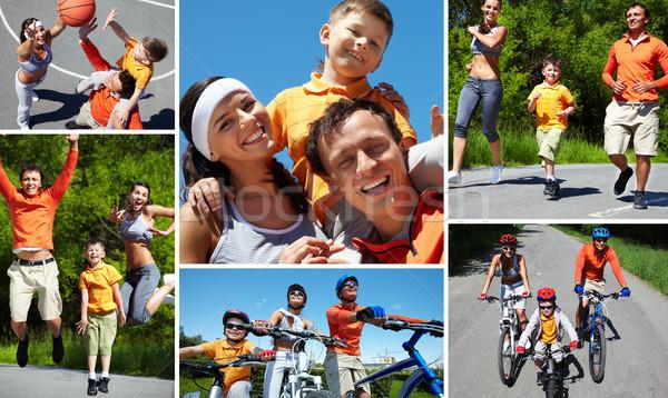 Summer sport Stock photo © pressmaster