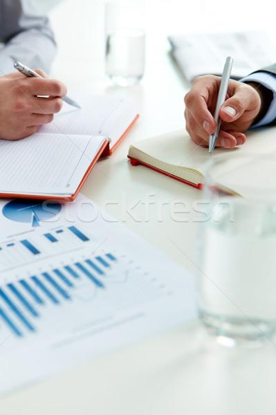 Stock photo: Working process
