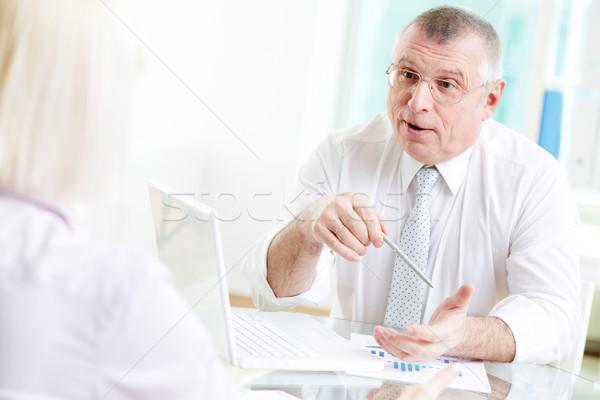 Negotiating Stock photo © pressmaster