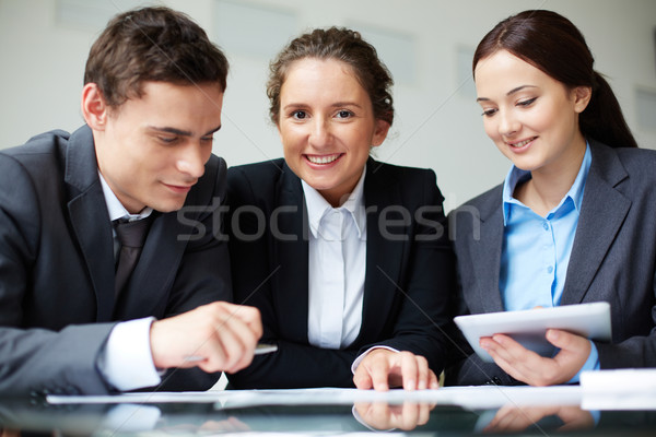 Working in group Stock photo © pressmaster