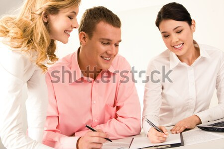 Advising Stock photo © pressmaster