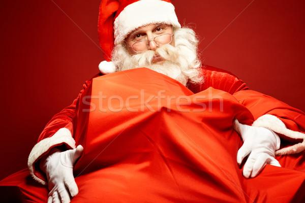 贈り物 肖像 サンタクロース ギフト ストックフォト © pressmaster