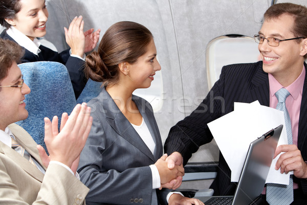 Business flight  Stock photo © pressmaster