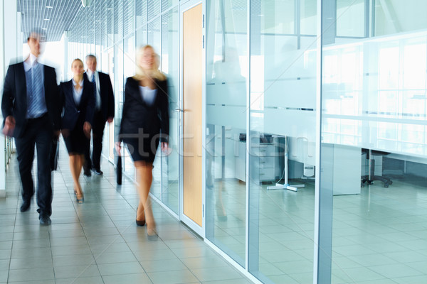 Businesspeople in corridor  Stock photo © pressmaster
