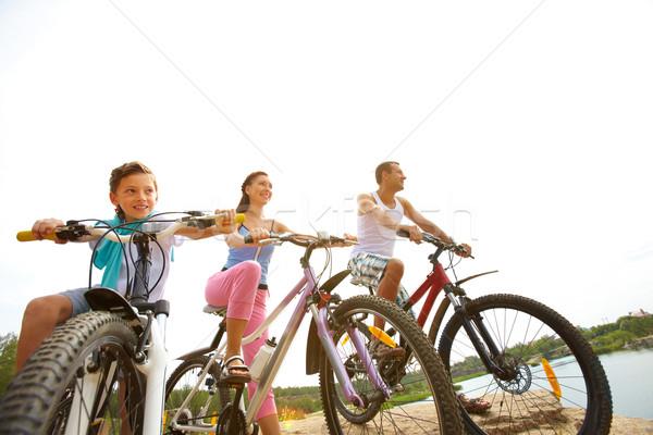 Cycling weekend  Stock photo © pressmaster