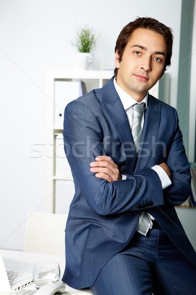 Confident boss Stock photo © pressmaster