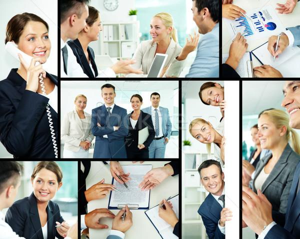 Happy managers Stock photo © pressmaster