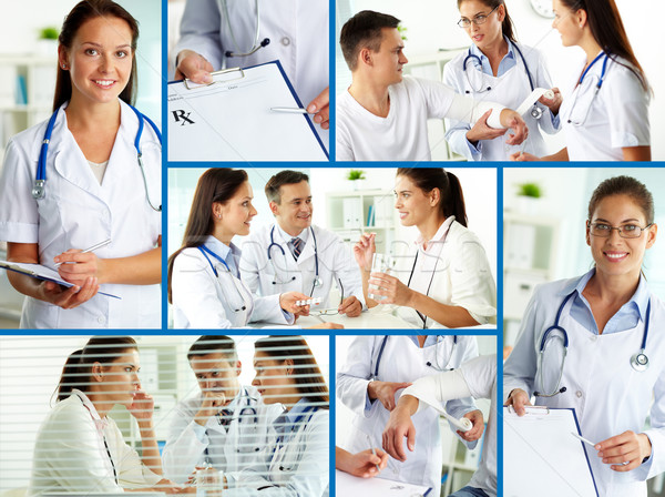 Medical care Stock photo © pressmaster