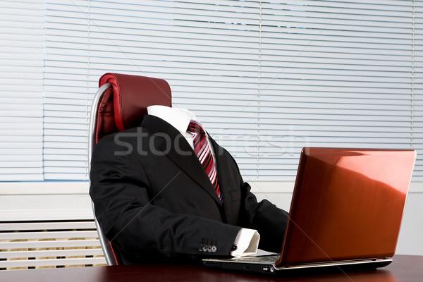 Absent boss Stock photo © pressmaster