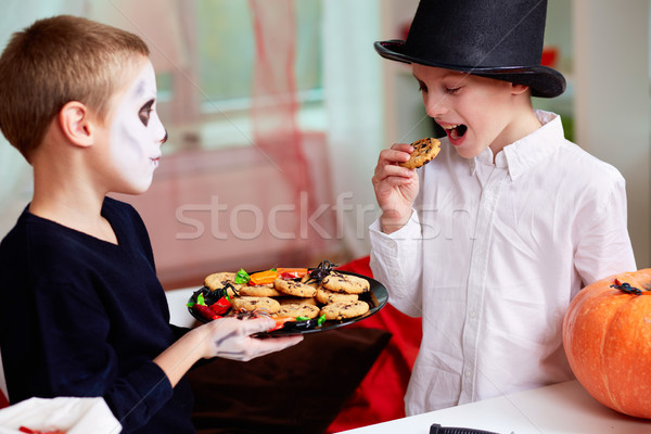 Stock photo: Halloween taste