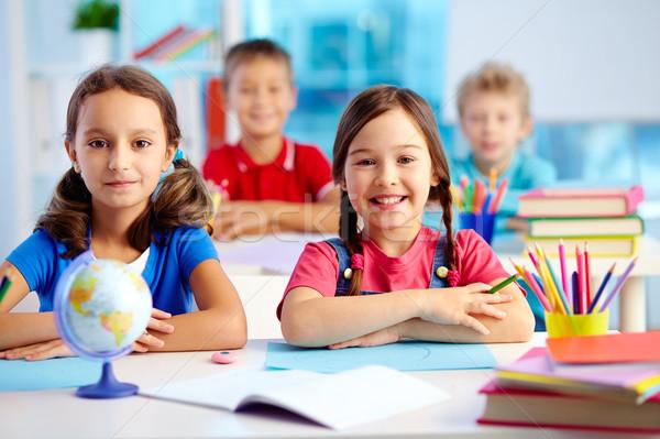 Youthful learners Stock photo © pressmaster