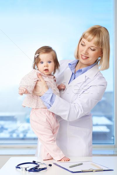 Nurse and patient Stock photo © pressmaster