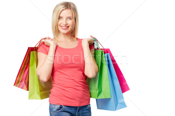 Stock photo: Casual shopper