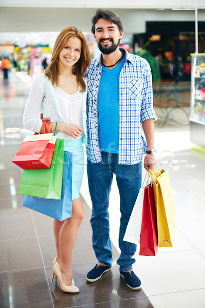Couple shopping Stock photo © pressmaster