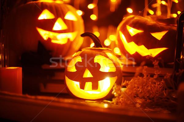 Halloween still-life Stock photo © pressmaster