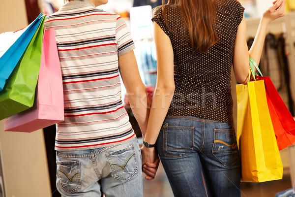 Backs of consumers Stock photo © pressmaster