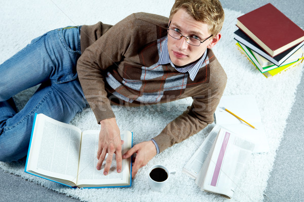 Busy student Stock photo © pressmaster