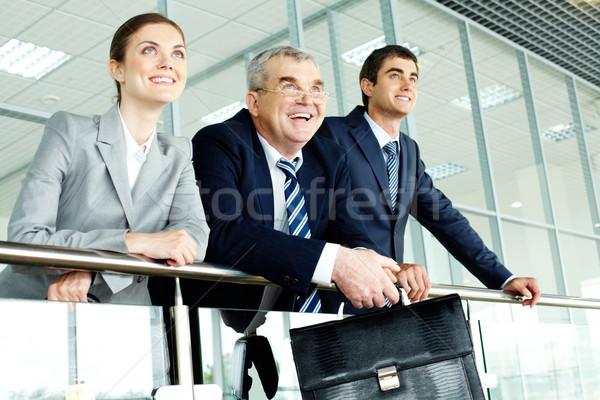 Happy partners Stock photo © pressmaster
