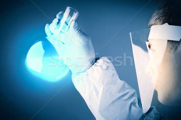 Examining reagent Stock photo © pressmaster