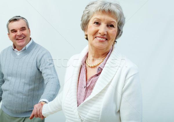 Holding hands Stock photo © pressmaster