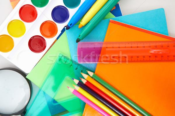 Educação objetos necessário escolas Foto stock © pressmaster