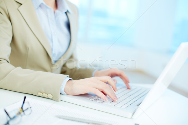 Secretary working Stock photo © pressmaster