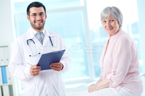 Doctor and patient Stock photo © pressmaster