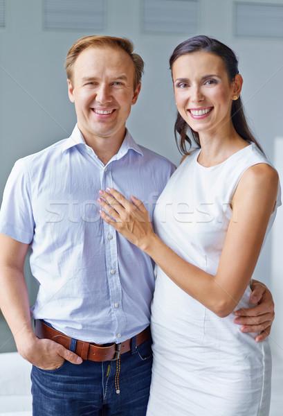 Férj feleség portré középkorú pár néz Stock fotó © pressmaster