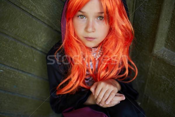 Halloween child Stock photo © pressmaster