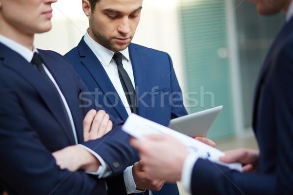Business discussion Stock photo © pressmaster