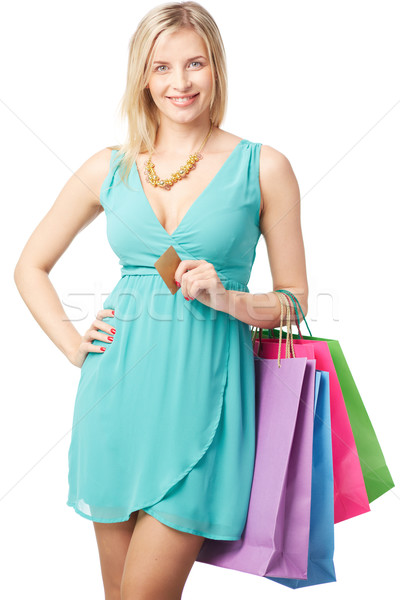 Shopping with no problem Stock photo © pressmaster