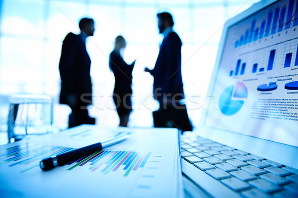 Business information Stock photo © pressmaster