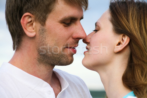 Kiss Stock photo © pressmaster